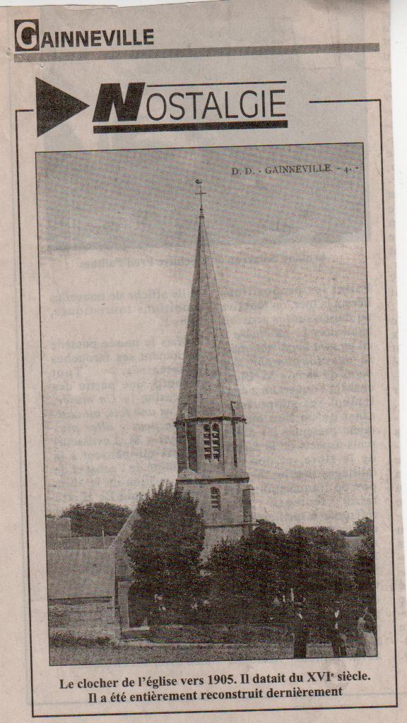 Histoire des communes - Gainneville Gainne11