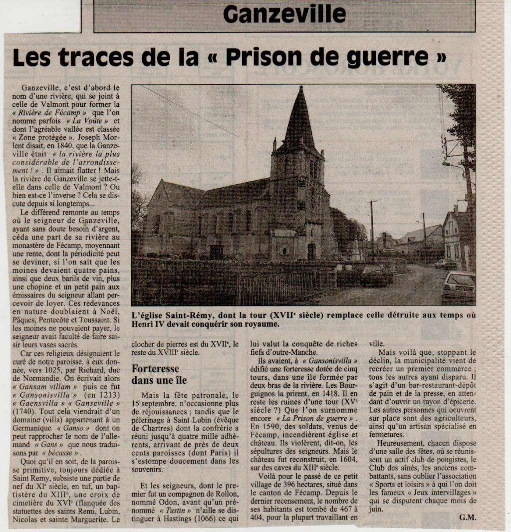Histoire des communes - Ganzeville Ganzev12