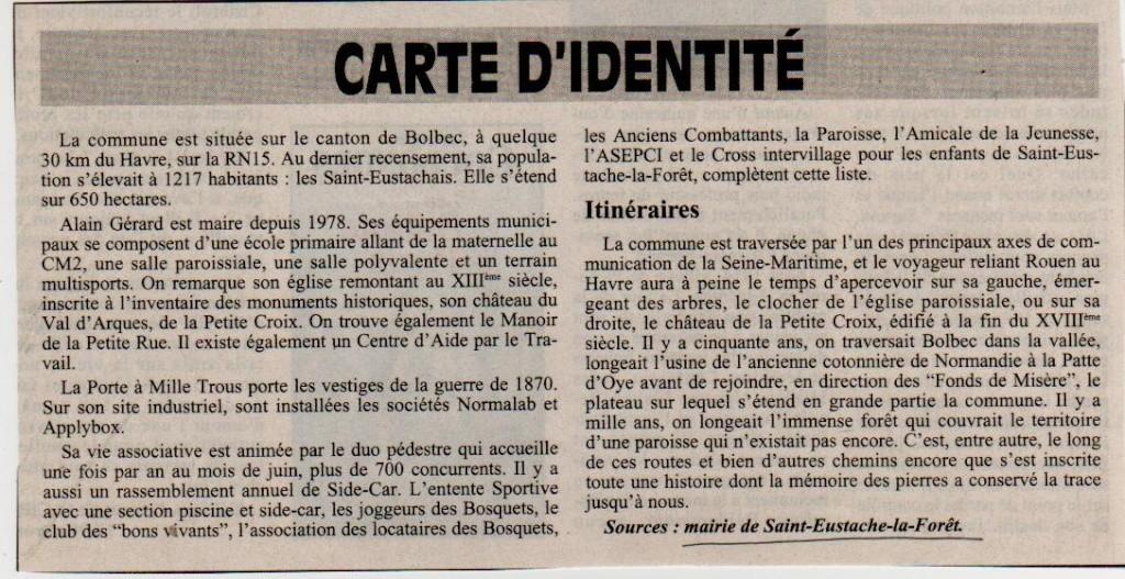 Histoire des communes - Saint-Eustache-la-Forêt Saint-11