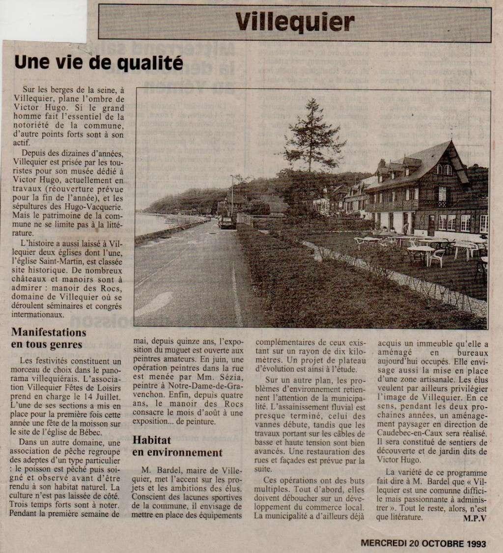 Histoire des communes - Villequier Villeq11