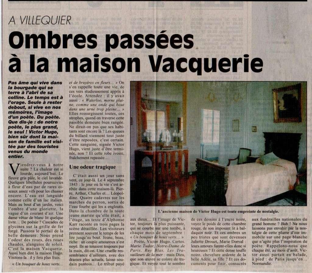 Histoire des communes - Villequier Villeq13