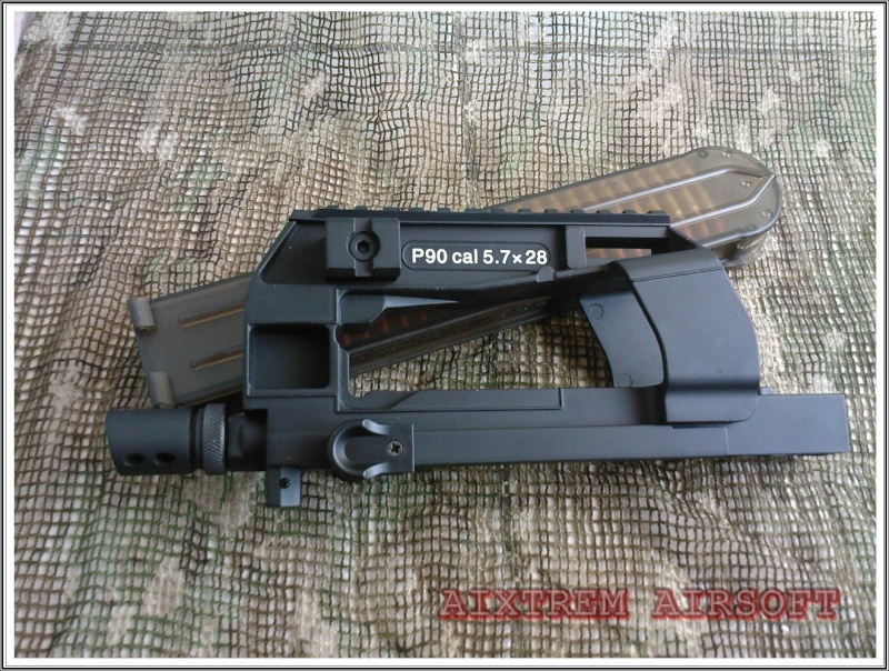 Echange upper receiver KS P90 Spm_a045