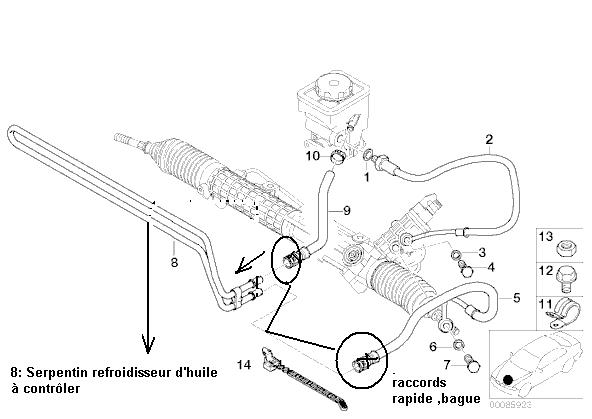 [ BMW e46 330d 204cv an 2003 ] fuite pompe de servo-direction 32_cir11