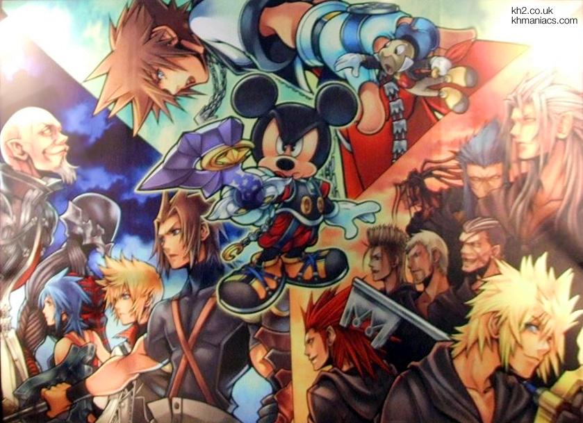 Kingdom Hearts Birth By Sleep Tgslin10
