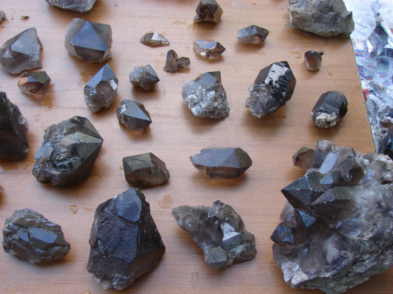 Quartz & minéraux du massif du Mont Blanc secteur Argentière Dsc02020