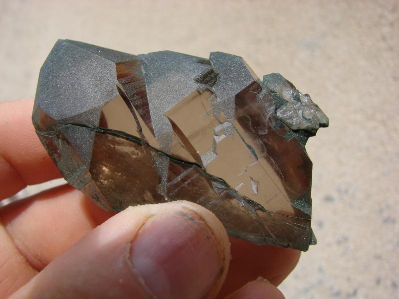 Quartz & minéraux du massif du Mont Blanc secteur Argentière Dsc05913