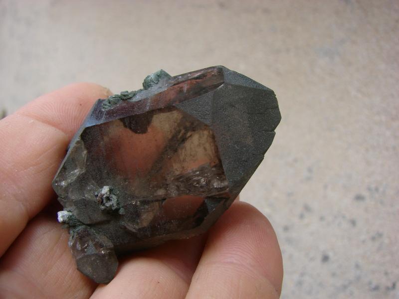 Quartz & minéraux du massif du Mont Blanc secteur Argentière Dsc05916