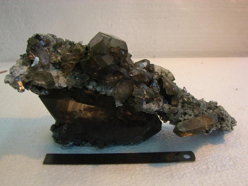 Quartz & minéraux du massif du Mont Blanc secteur Argentière Dsc06027