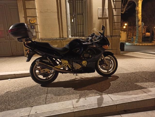 En attendant ma prochaine pistarde... Voici ma moto 2020 !  Présentation GSXF750 Img_2026