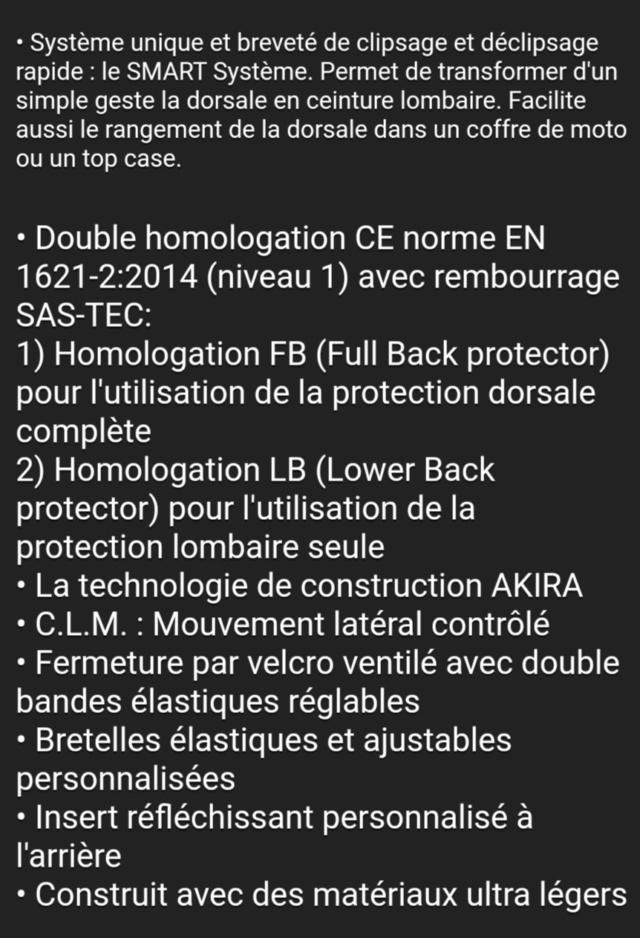 Nouveauté DORSALE FORMA AKIRA en TEST Img_2061