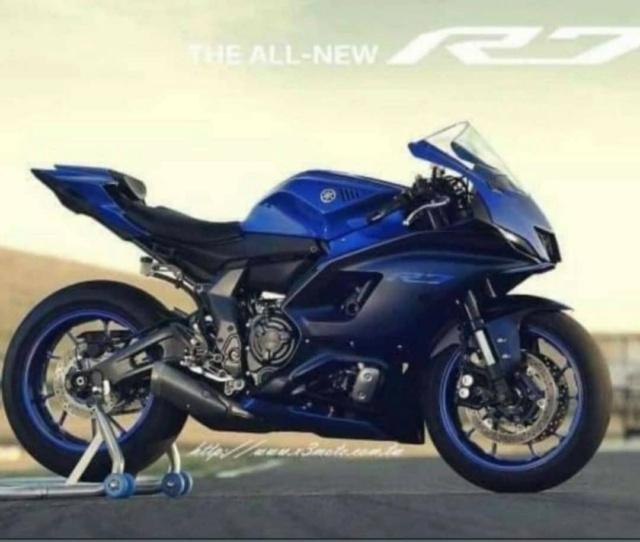 YAMAHA : Nouveau modèle sportif en approche ! R710