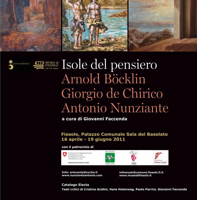 "FIESOLE ""Isole del pensiero"" Böcklin-de Chirico-Nunziante - Pagina 3 Copert10"