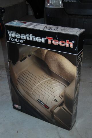 WeatherTech Floorliners Dsc_0015
