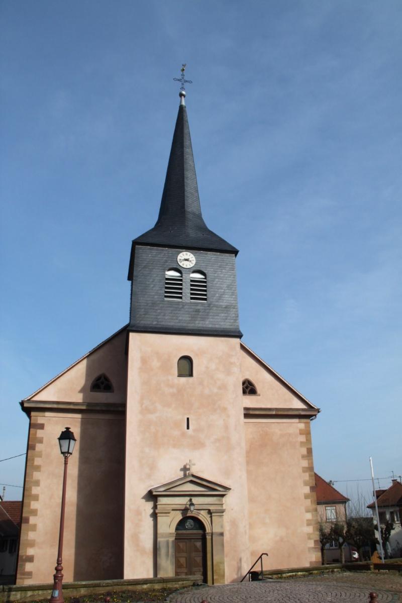 Le chantier de restauration de l'église simultanée de Wangen ... - Page 2 Img_2434