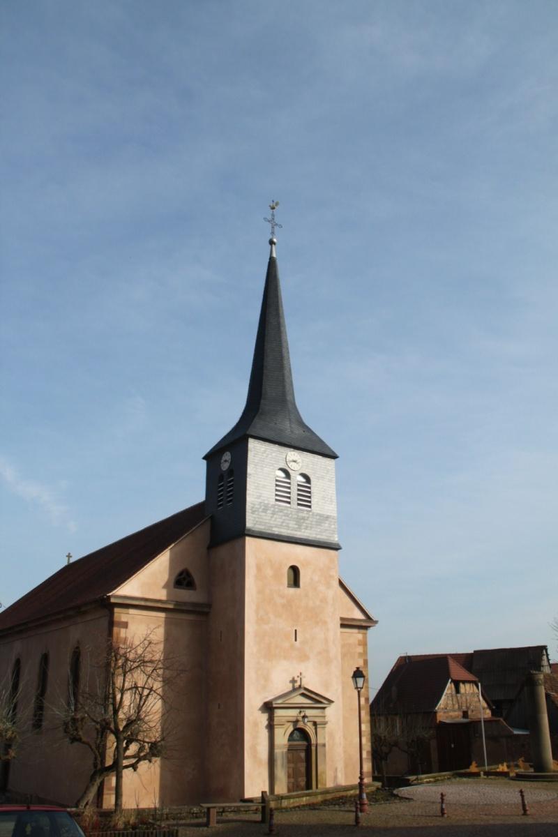 Le chantier de restauration de l'église simultanée de Wangen ... - Page 2 Img_2435