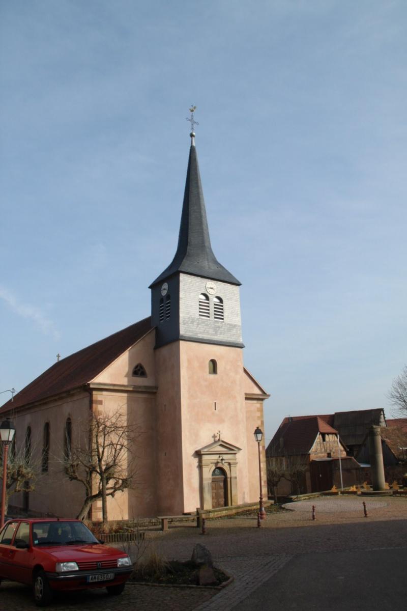 Le chantier de restauration de l'église simultanée de Wangen ... - Page 2 Img_2437