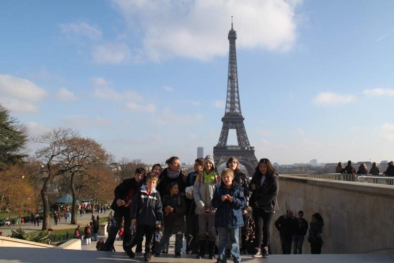 Une semaine à Paris pour un groupe de jeunes du Freihof à Wangen  Ob_1c810