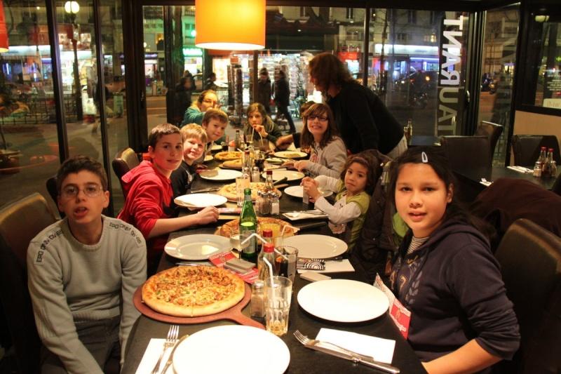 Une semaine à Paris pour un groupe de jeunes du Freihof à Wangen  Ob_23c10
