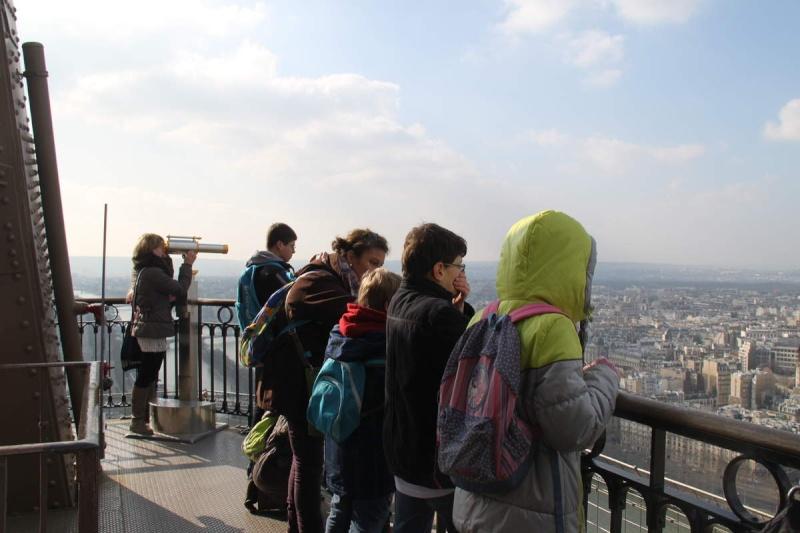 Une semaine à Paris pour un groupe de jeunes du Freihof à Wangen  Ob_55910