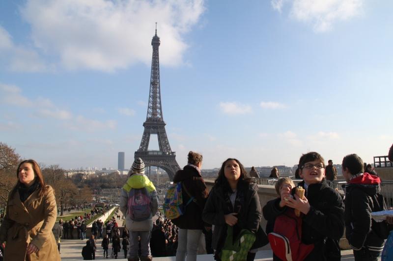 Une semaine à Paris pour un groupe de jeunes du Freihof à Wangen  Ob_70f10