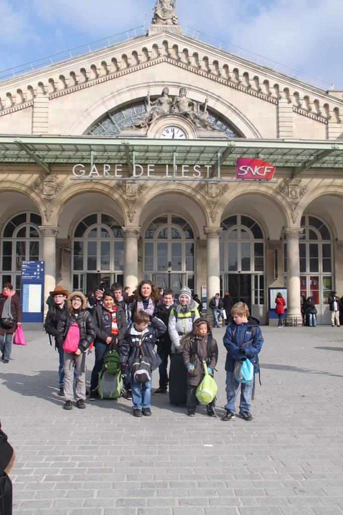 Une semaine à Paris pour un groupe de jeunes du Freihof à Wangen  Ob_fe910
