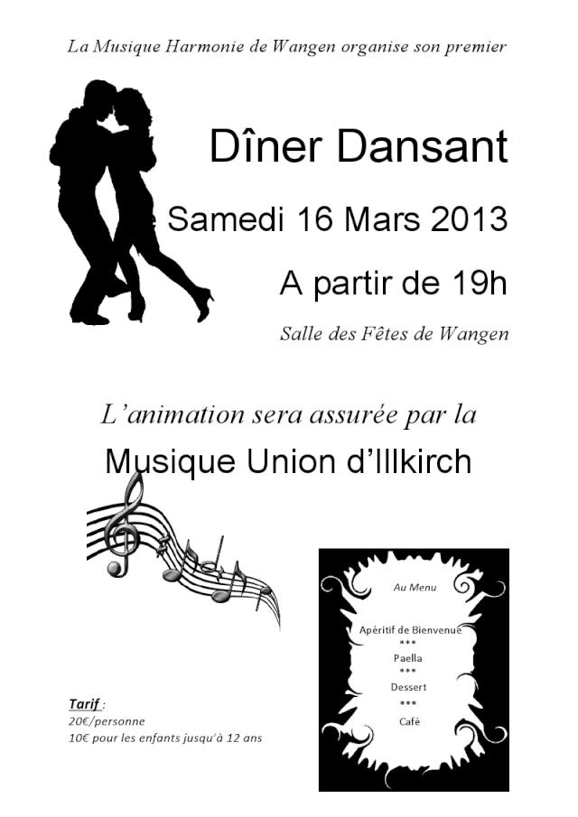 harmonie - Dîner dansant de la Musique Harmonie de Wangen le 16 mars 2013 Viewer11