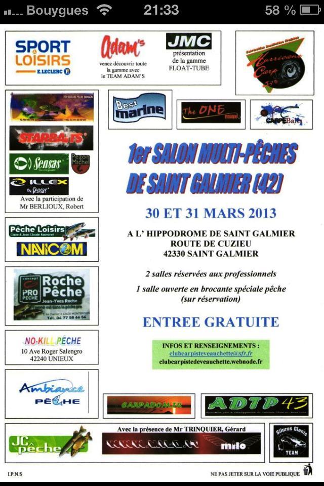 Salon de saint galmier Affich10