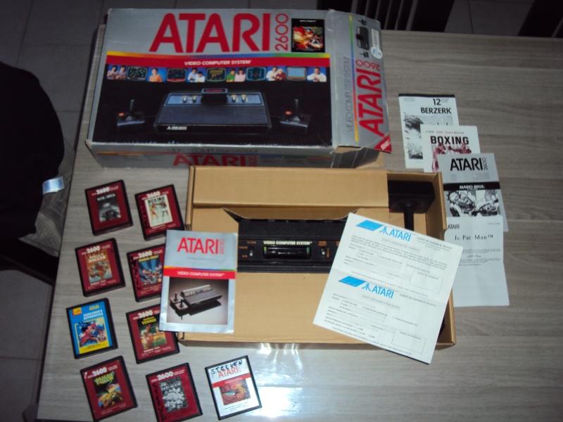ATARI 2600 complete + 9 jeux !! 00310