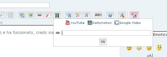 Come inserire un filmato di YouTube nei messaggi 210