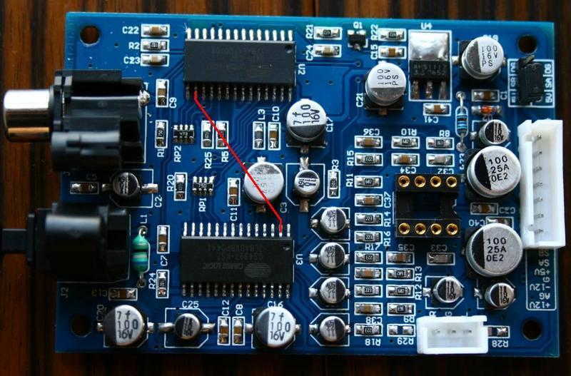 Un DAC per il T-AMP (DAC LAMPUCERA) Lampum10