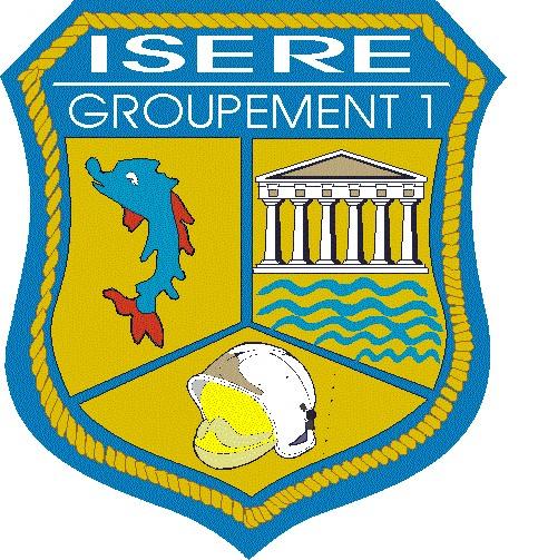 Ecusson G1 Isère G110
