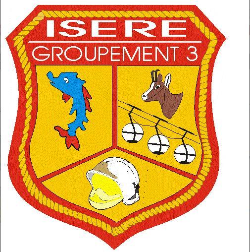 Ecusson G3 Isère G310