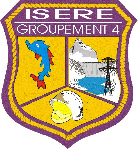 Ecusson G4 Isère G411