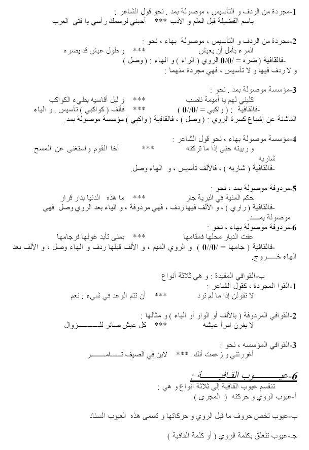 حدود القافية وأنواعها وعيوبها Oouo_o12