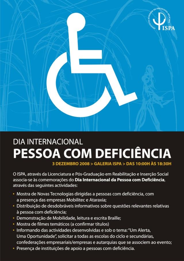 Comemorações do Dia Internacional da Pessoa com Deficiencia Image010