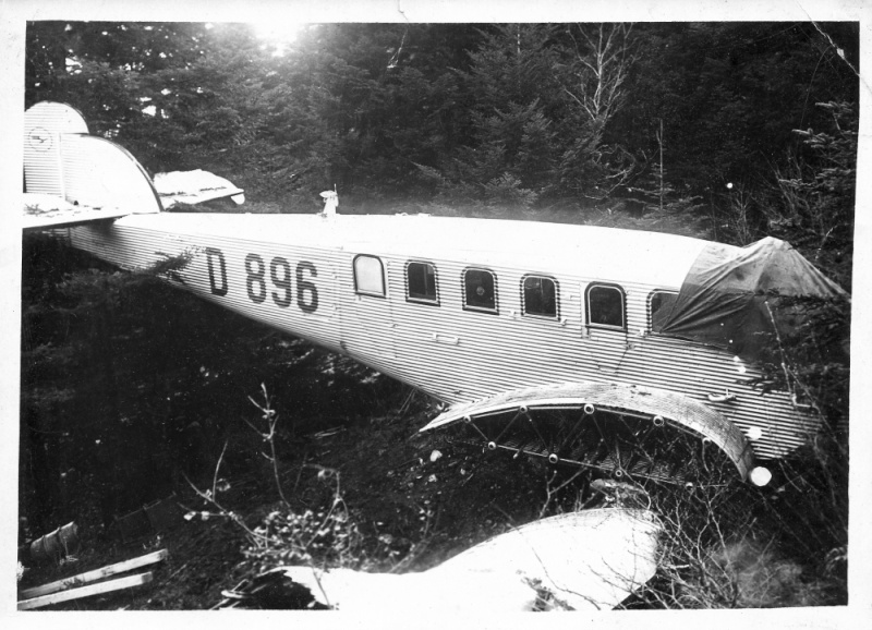 crash à Gex (01) d'un Junker en 1931 Junker14
