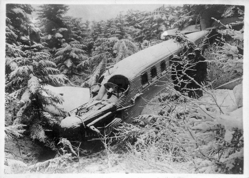 crash à Gex (01) d'un Junker en 1931 Junker15