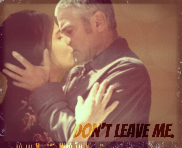 George Clooney and Tuba Buyukustun Photoshopped Pictures - Page 3 Kisspi10