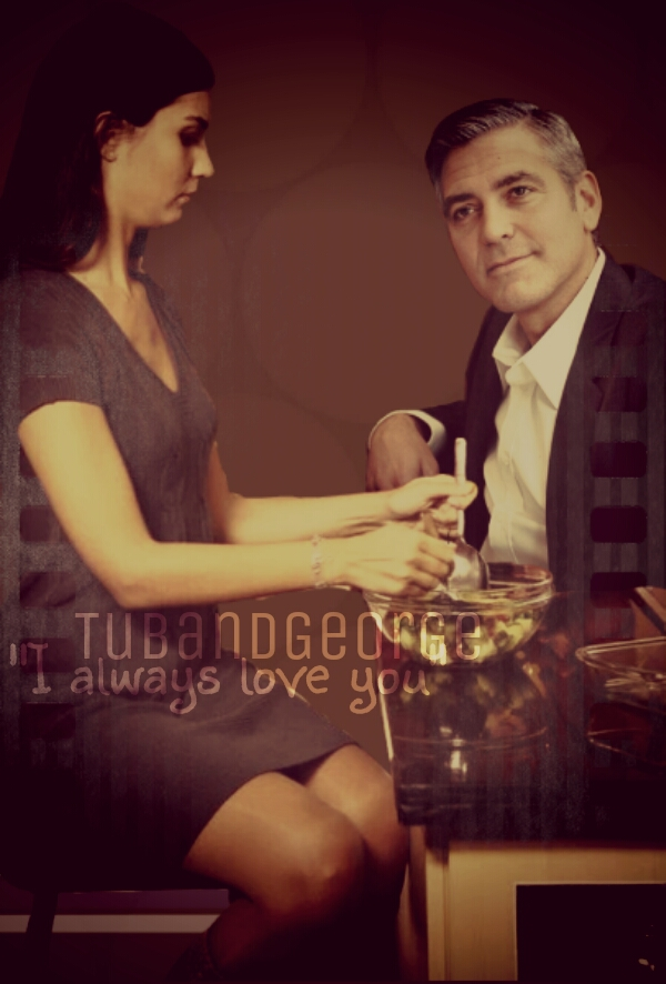 George Clooney and Tuba Buyukustun Photoshopped Pictures - Page 5 Picsa112