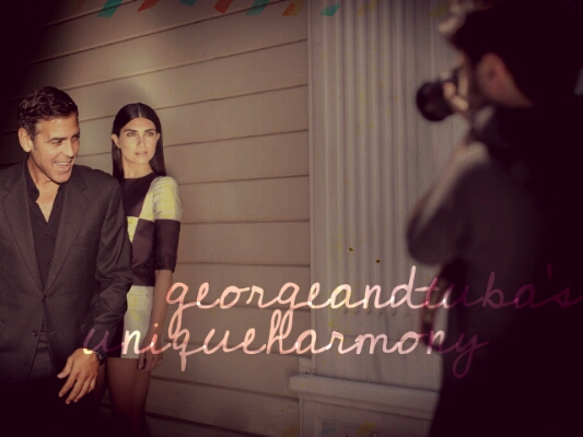 George Clooney and Tuba Buyukustun photshopped pictures - Page 17 Picsar11