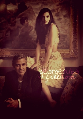 George Clooney and Tuba Buyukustun photshopped pictures - Page 18 Picsar24