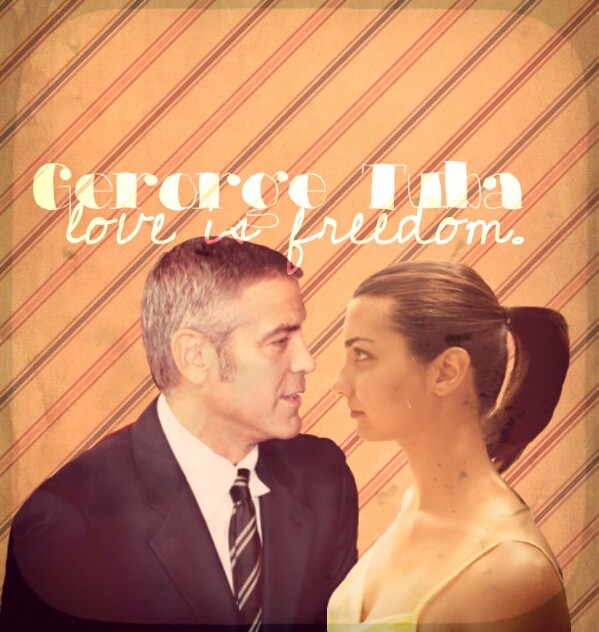 George Clooney and Tuba Buyukustun photshopped pictures - Page 19 Picsar38