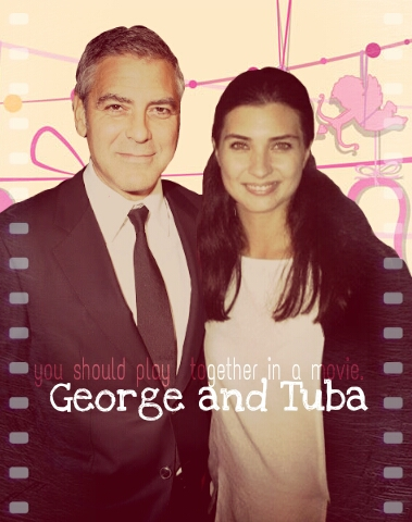 George Clooney and Tuba Buyukustun photshopped pictures - Page 20 Picsar45