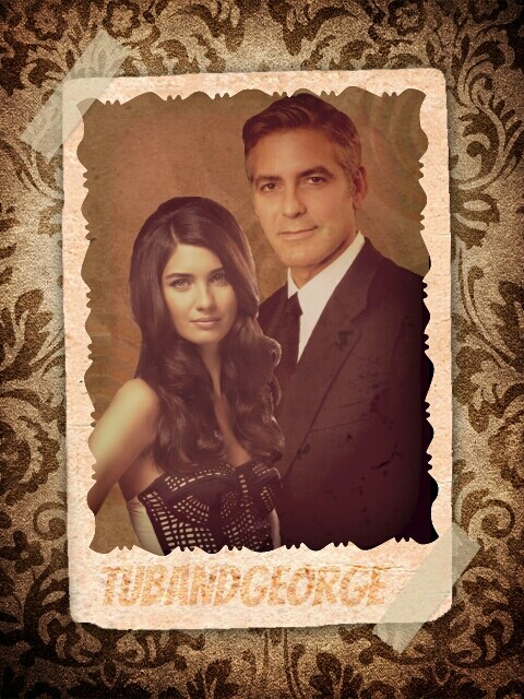 George Clooney and Tuba Buyukustun Photoshopped Pictures - Page 2 Picsar70