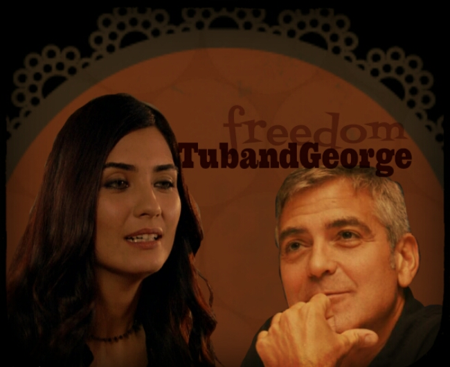 George Clooney and Tuba Buyukustun Photoshopped Pictures - Page 2 Picsar71