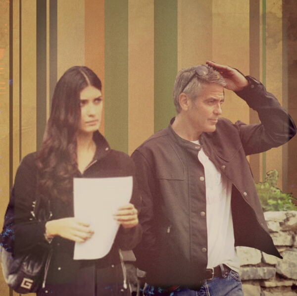 George Clooney and Tuba Buyukustun Photoshopped Pictures - Page 3 Picsar78