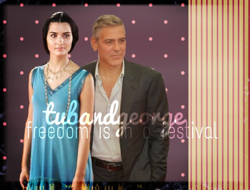 George Clooney and Tuba Buyukustun Photoshopped Pictures - Page 3 Picsar85