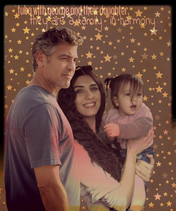 George Clooney and Tuba Buyukustun Photoshopped Pictures - Page 4 Picsar91