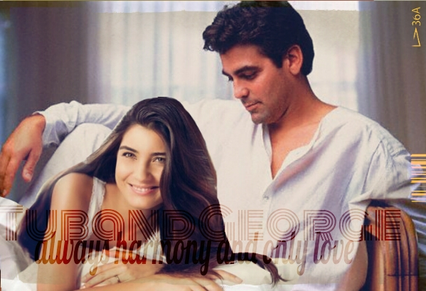 George Clooney and Tuba Buyukustun Photoshopped Pictures - Page 4 Picsar93