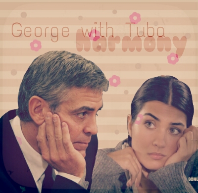 George Clooney and Tuba Buyukustun Photoshopped Pictures - Page 4 Picsar96